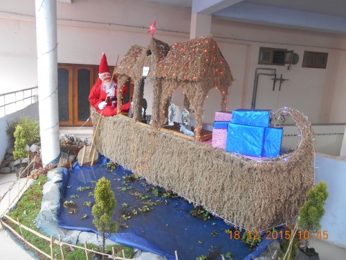 Crib Making Competition On 18 12 2015